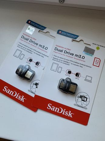 Флешка для телефона Sandisk Ultra Dual m3.0