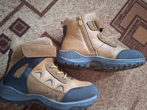 Зимние ботинки на мальчика 35 размера