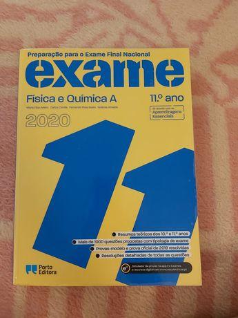 Livro de preparação para o exame  de Física e QuímicaA