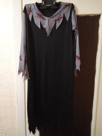 Ведьма костюм платье ведьмы вампира вампирши колдуньи бабы яги