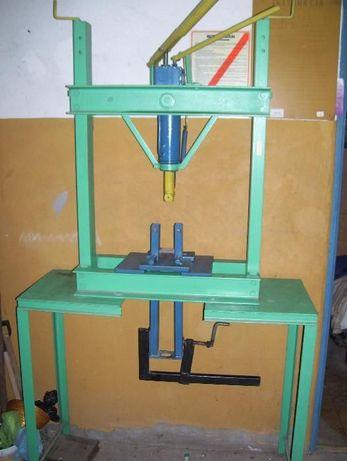 Prasa hydrauliczna - warsztatowa