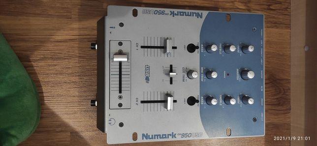 Микшер контроллер Numark 950 usb музыка