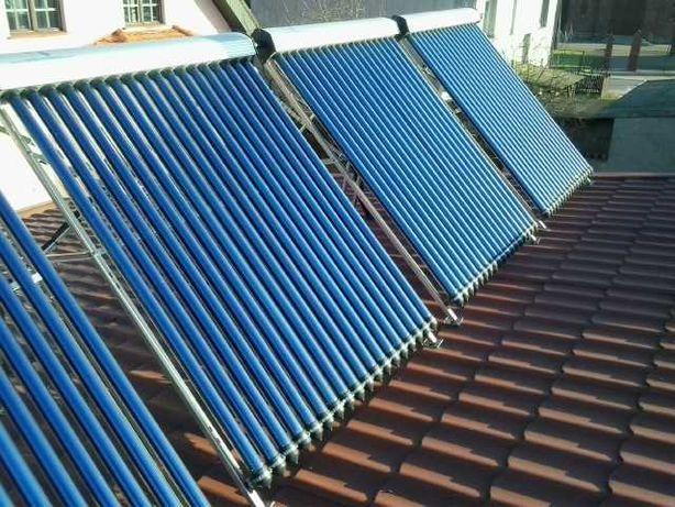 kolektory słoneczne - płytowe i próżniowe - własny serwis!