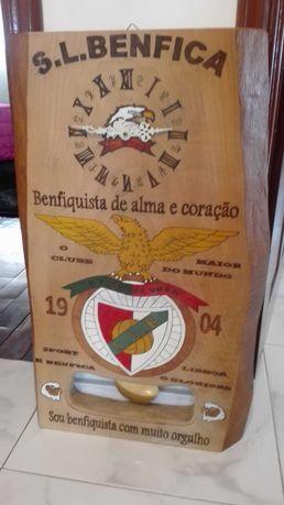 Relógio Artesanal Benfica