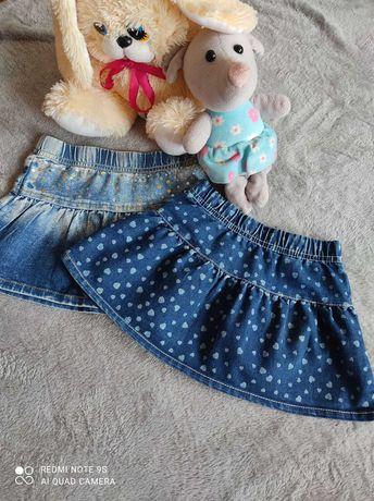 Юбки на девочку 1-2 года