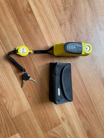 Мотозамок на тормозной диск Abus Trigger Alarm 345 с сигнализацией