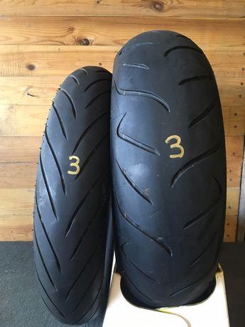 180/55/17 & 120/70/17 Dunlop D222