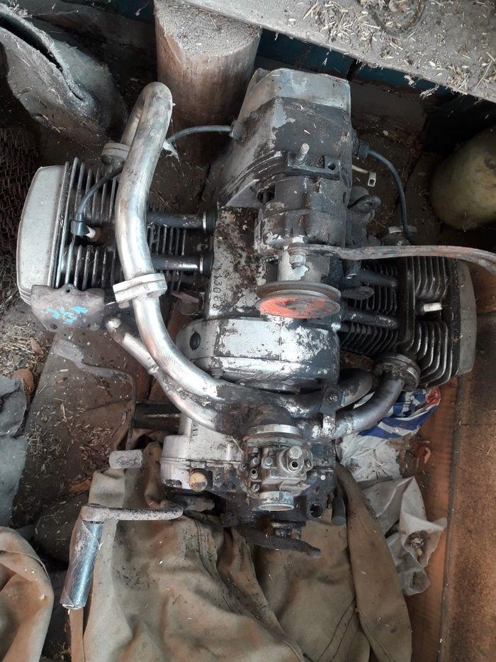 МТ двигатель+коробка Толстая - изображение 1