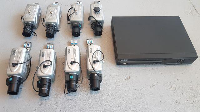 Zestaw BCS Kamery Przemysłowe + Rejestrator