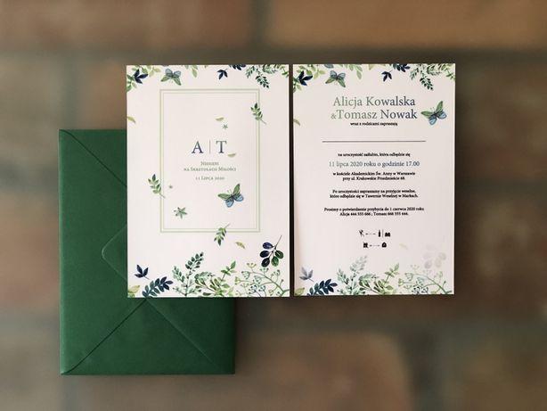 Zaproszenia ślubne - Skrzydła Miłości