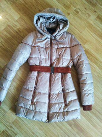 Зимняя длинная куртка, пальто, парка, на 140-152