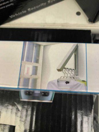 Алюминиевая складная невидимая вешалка для одежды крепится на стену