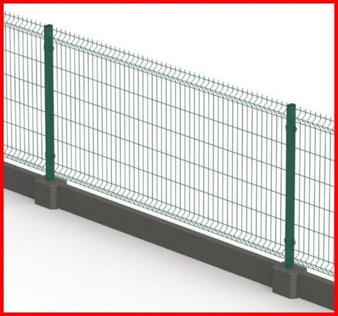 PANELE ogrodzeniowe 123 cm RABATY DLA MONTAŻYSTÓW ogrodzenie panelowe