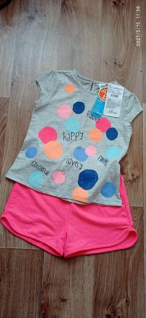 Костюм летний шорты и футболка, комплект шорты футболка LC WAIKIKI