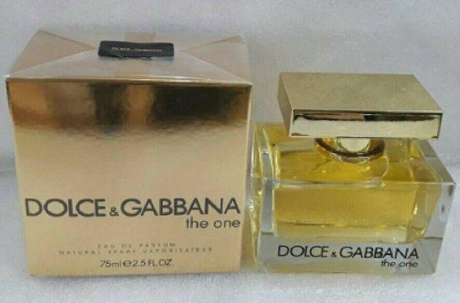 The One Dolce&Gabbana 75 мл парфюм женский Дольче Габбана