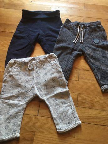 Spodnie dresowe chlopiece 80