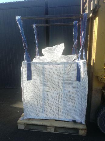 WOrki Big Bag Używane 95/95/130cm Mocny Sztywny Materiał 1200kg