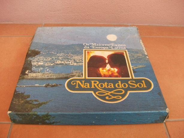 """Colectânea vinil """"Na Rota do Sol"""" + """"Sucessos da Eurovisão"""""""