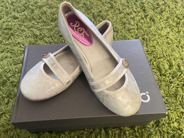 Baleriny balerinki buty letnie 33 KOMUNIA