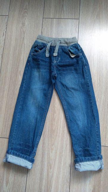 Spodnie jeansowe jeansy nie Reserved 116