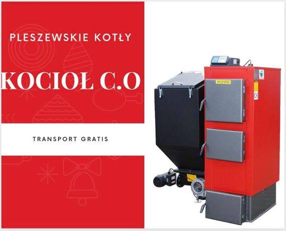 Kocioł 22 kW do 160 m2 na EKOGROSZEK z PODAJNIKIEM Piec Kotly 19 20 21
