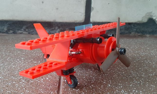 Самолет Лего (LEGO) Красный Барон (Red Baron)