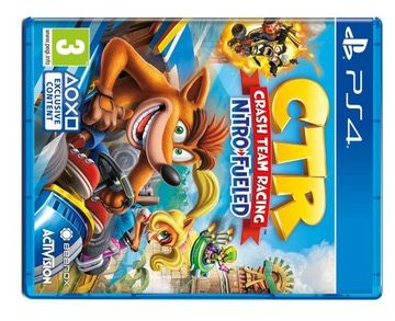 CRASH TEAM RACING NITRO-FUELED ps4, nowa w folii, sklep Tychy