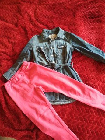 Лосины и Туника платье, джинсы,лосины