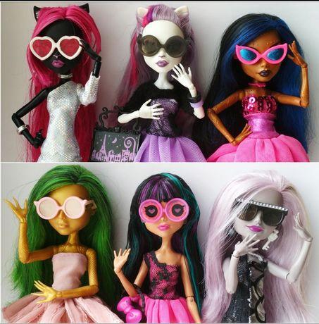 Необычные очки (аксессуары) для кукол Монстер Хай и Эвер Афтер Хай
