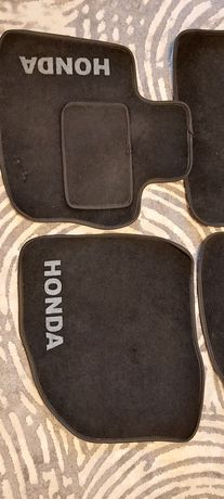 Dywaniki Honda Civic  - welur, oryginał