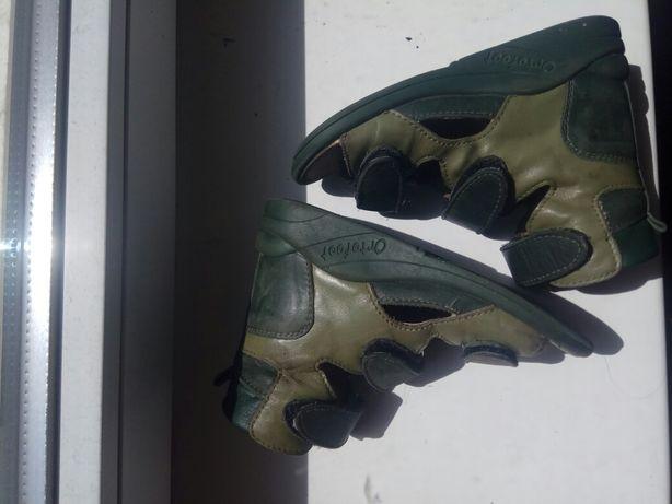 Ортопедические сандали босоножки Ortofoot для плосковальгусной стопы
