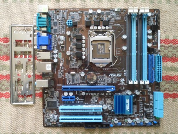 Материнська плата Socket 1156 ASUS P7Q57-M DO (rev 1.04G)