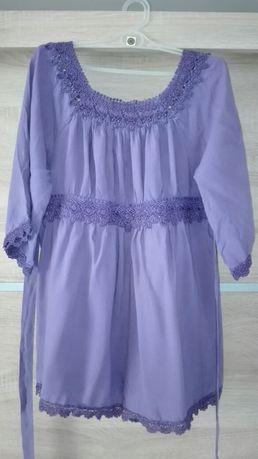 Ciążowe bluzki, tuniki, sweterek, koszula hm mama, zara basic, ofelia