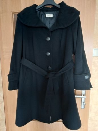 Płaszcz flauszowy, rozmiar 48