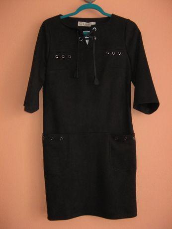 Nowa czarna sukienka firmy LAVINIA rozm 36
