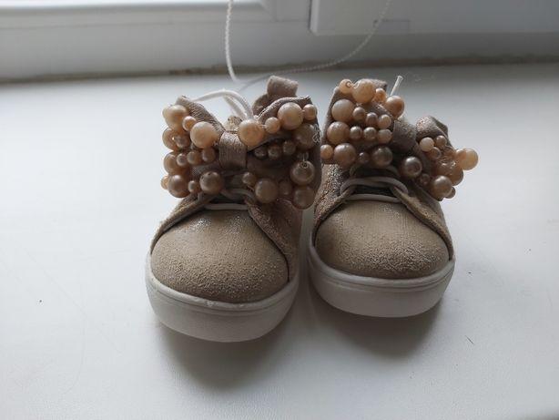 Туфли туфельки мокасины для девочки 20р
