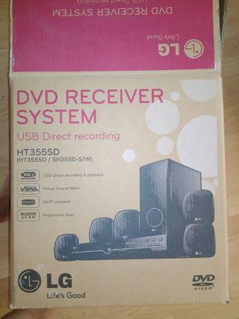 Kino domowe LG HT355SD, 5 głośników + subwoofer