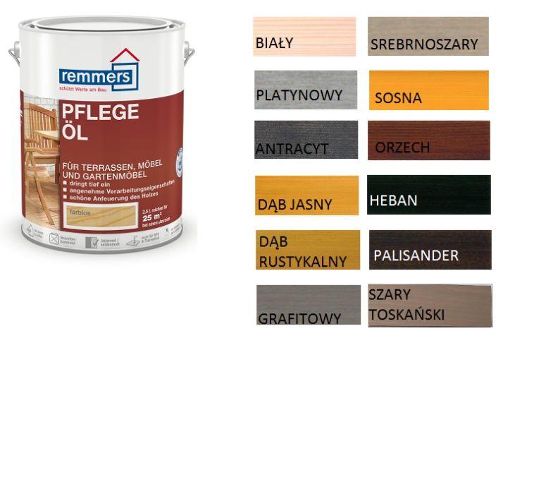 Olej do tarasu Pflege-Ol Remmers kolory 24h 2,5l Świerzów - image 1