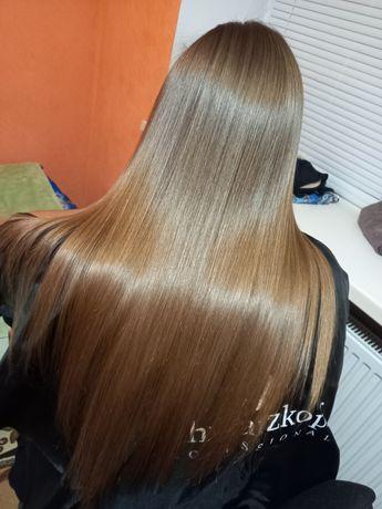 Кератинове вирівнювання волосся БОТОКС sos восстановление  полірування