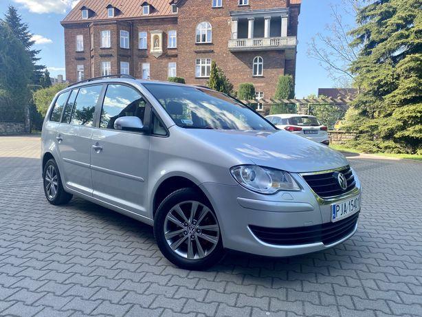Volkswagen Touran 1.9 TDI Lift Hak Kamera Cofania Nawigacja Gwarancja