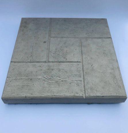 płytki chodnikowe betonowe ( stara deska)