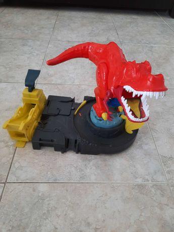 T-Rex da Hotwheels com lançador