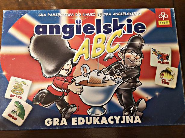 Gra pamięciowe Angielskie ABC Trefl