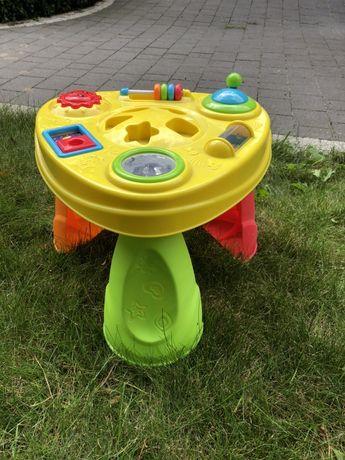 Stoliczek edukacyjny zabawki grzechotki dla dziecka