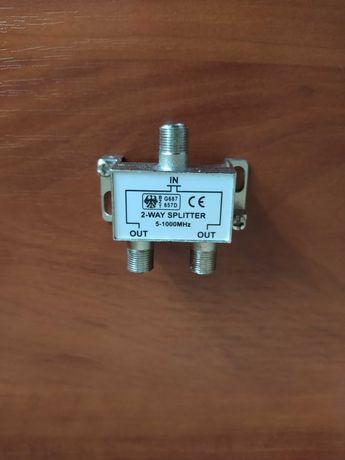 Splitter 2-WAY   5-1000 MHZ