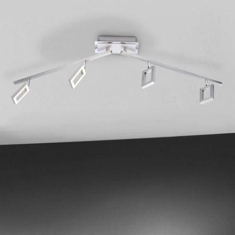 Minimalistyczna lampa sufitowa listwa LED INIGO Paul Neuhaus 6960-55