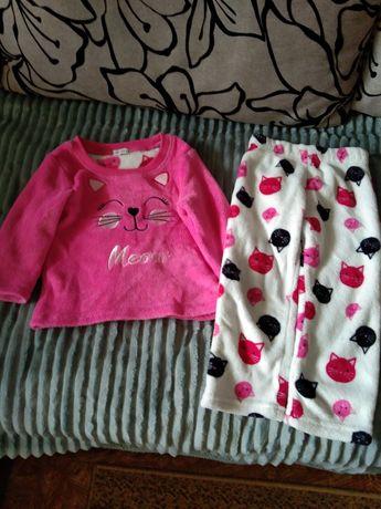 Пижама для девочки размер 2-3 года