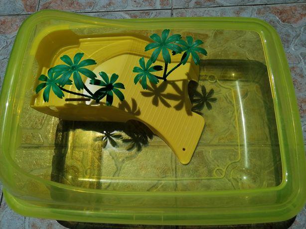 Aquário tartaruga