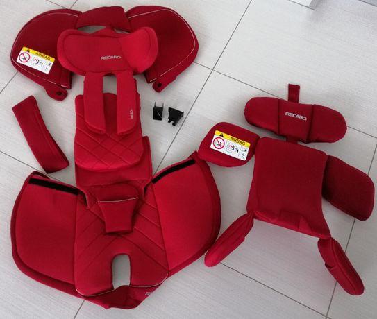Recaro Zero.1 - czerwony komplet pokrowców NOWY!!!