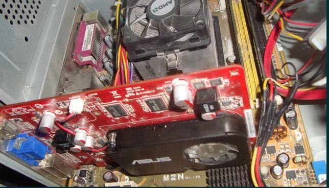 Видеокарта ATI HD4650 512мб. PCI